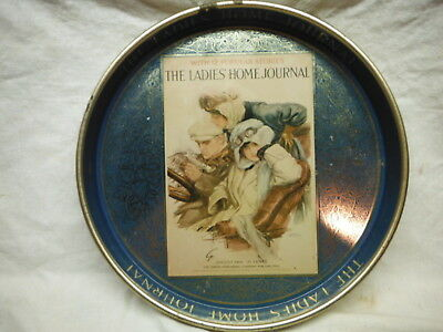"""The Ladies Of Home Journal 14"""" Tin Tray"""