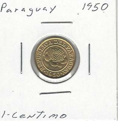 Paraguay 1 Centimo, 1950