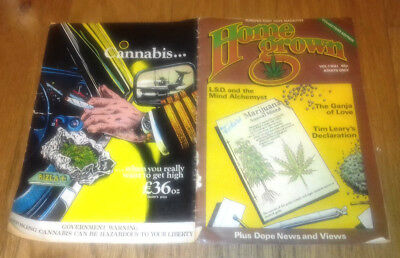 Home Grown Vintage Dope Magazine 1977 first issue Vol.1 no.1 Collectors edition