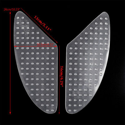 Traction Side Tank Pad Grip Protector for Kawasaki ZX 6R 10R Z1000 Honda CB400