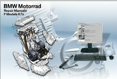 Manuale Officina Bmw F650 F800 Gs S St V03/2008 Workshop Manual Reprom Email
