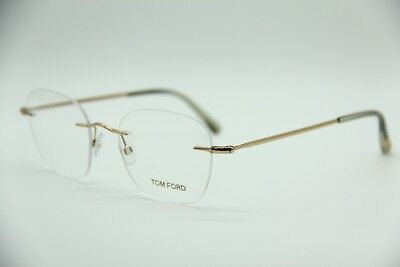 042caf433e8 New Tom Ford Tf 5341 028 Gold Eyeglasses Authentic Rx Tf5341 51-20 W