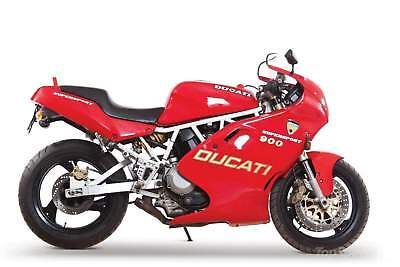 Manuale Officina Ducati 750Ss 900Ss 1991_1998 -  Workshop Manual Service Email