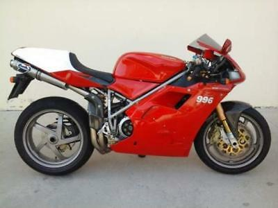 MANUALE OFFICINA DUCATI Ducati 996 S R SPS - 1999-2001 WORKSHOP MANUAL SERVICE