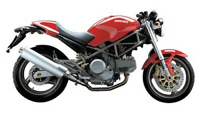 MANUALE OFFICINA DUCATI MONSTER 620 ie 400 my 04 WORKSHOP MANUAL SERVICE EMAIL