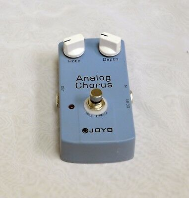 Joyo Analog Chorus Pedal JF-37, Pre-Owned in Great Condition, QUICK SHIP