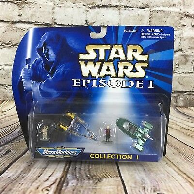 Star Wars Episode 1 Micro Machines Collection 1 Galoob 1998