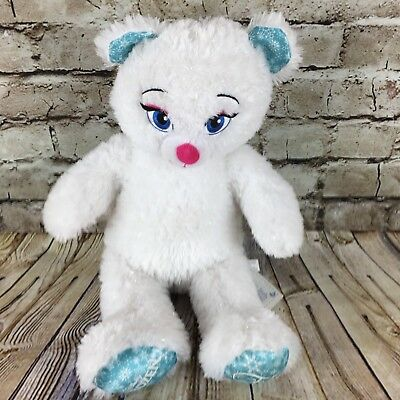 "Disney Frozen Queen Elsa Build A Bear Workshop 17"" Stuffed Animal Plush Doll"