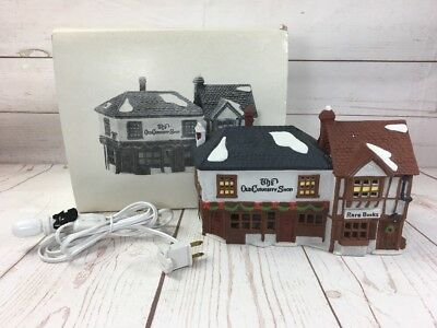 Dept 56 Dickens' Village The Old Curiosity Shop 5905-6 Retired Rare Books Used