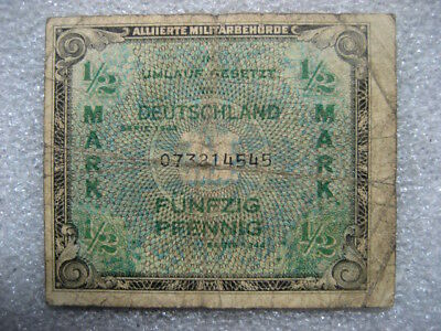 .Paper Money Germany 1944 50 pfennig Allied Military