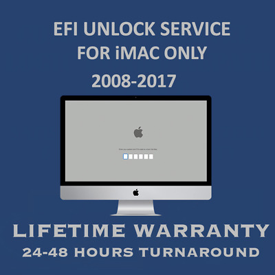 iMac EFI Firmware Password Lock Removal for all 2008-2017
