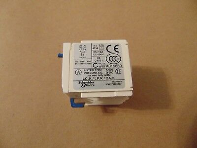 Telemecanique Schneider Electric LA1KN11 2-Pole 1NO-1NC Contact Block
