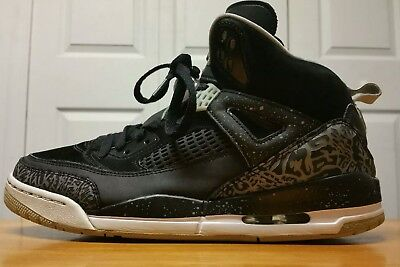 best website 6cd71 c1ccf Nike Air Jordan Spizike Sz 11 Oreo Black Cool Gray 315371-004 Authentic