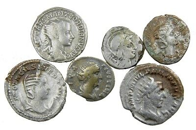 6 Ancient Roman Fourrees plus 8 Forgery Reference Works