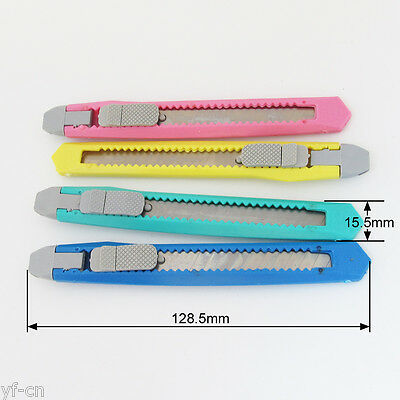 10pcs Utility Cutter Knife Snap-off Blade Cutter Knife 80x9x0.4mm LY NO.L804