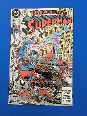 Adventures of Superman #466-First Appearance of Hank Henshaw!!!