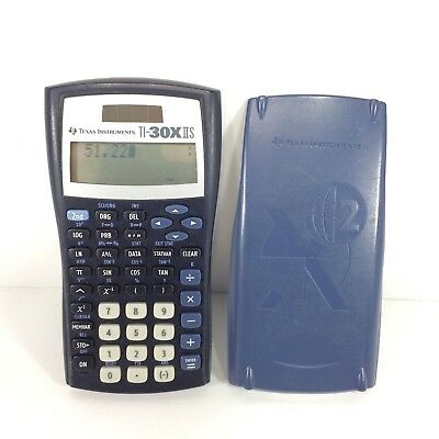 Brand New Texas Instruments 2-Line Scientific Calculator TI-30X IIS NIB Black