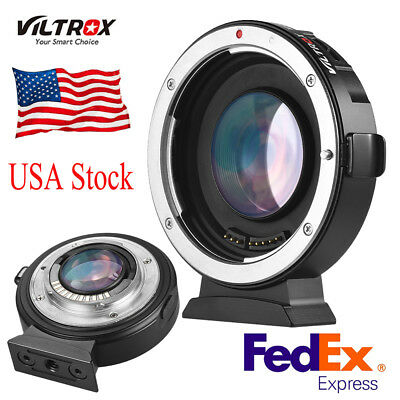 Viltrox EF-M2 Electronic Adapter Booster 0.71x for Canon EOS EF Lens to M4/3 MFT