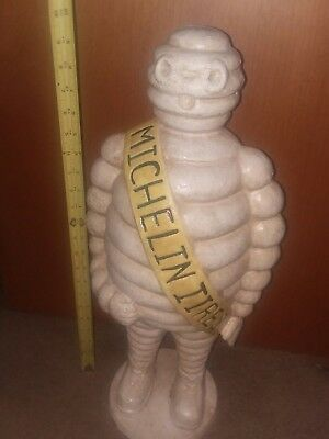 Bibendum Michelin Man Cast Iron Tire Advertising Collectible.