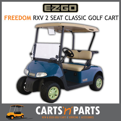 E-Z-GO Freedom RXV 2 Seat Golf Cart Buggy