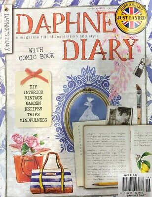 DAPHNE'S DIARY 2018 - Number 5 - New