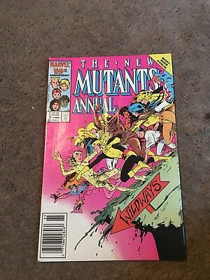 The New Mutants Annual #2 (Jan 1986, Marvel) Psylocke 1st Appearance