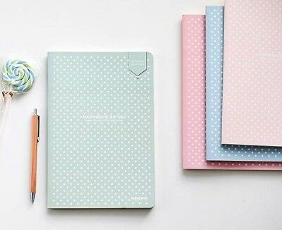 Notebook Dotted Soft Cover Stationery Lattice Creative Simple Journal Notebook