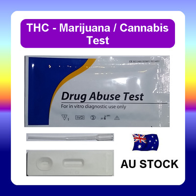 Urine Drug Test Screen Testing Home Kit CASSETTE for THC (Marijuana) Cannabis