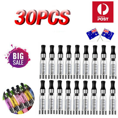 30 Pcs 1.6ml CE4 Clearomizer 510 Tank e-Atomizer Charger Pen Wholesale