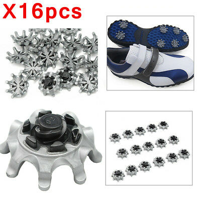 16x Replacement Golf Shoes Spikes Studs Cleats Fast Twist For Tri-Lok Footjoy