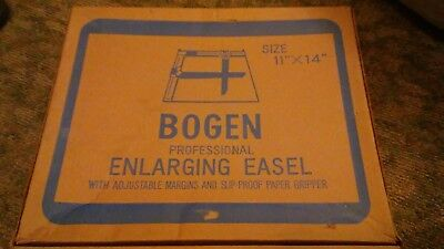 Bogen Professional Enlarging Easel 11 x 14 w/ Adjustable Margins & Paper Gripper