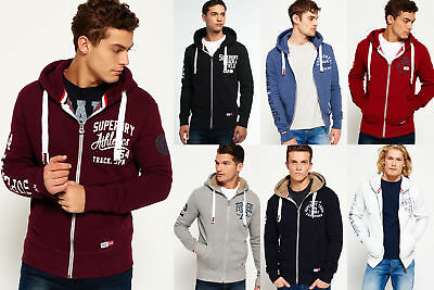 New Mens Superdry Hoodies Selection Various Styles /& Colours 2906