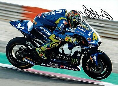 VALENTINO ROSSI Autograph NEW SIGNED 16x12 Yamaha Photo 2 AFTAL COA The Doctor