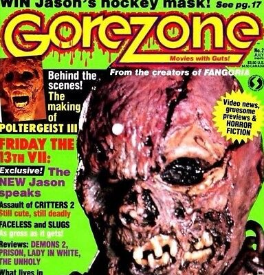 GOREZONE MAGAZINE Complete Collection With Specials & Other Magazines on DVD Rom