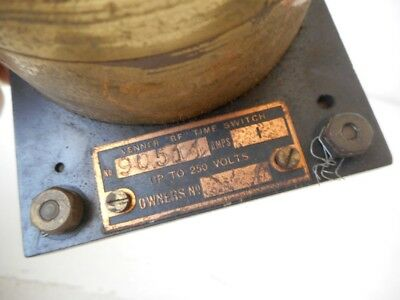 Antique VENNER BF Time Switch - Spares and Repairs