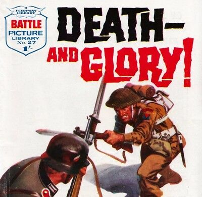 BATTLE PICTURE LIBRARY COLLECTION - Digital Comic Books on 2 DVD Rom