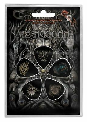 Meshuggah - 5 x Guitar Picks Plectrum Pack (Musical Deviance)