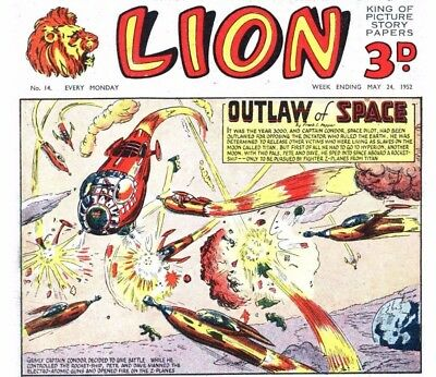 LION COMICS COLLECTION on DVD - 5 Disc Set 950+ Issues. Annuals & Specials