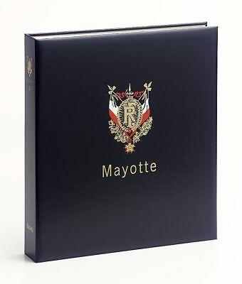 Davo Luxe album pour timbres Mayotte I 1997-2011