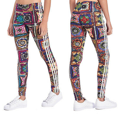 c946daecc61 ADIDAS ORIGINALS x FARM FIREBIRD TREFOIL WOMEN'S LEGGINGS PANTS BOTTOMS  AY6845