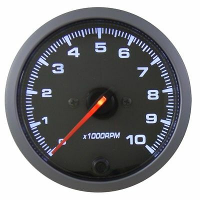 RMD 80mm Stepper Tacho Gauge Rev Counter 0 > 10,000 RPM - NG200B Coil Ignition