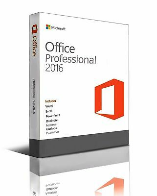Microsoft Office Professional 2016 Plus Key + Download Sofort Versand ***** TOP