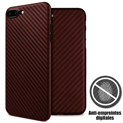 Coque Antichoc Silicone Mat iPhone X XR XS MAX 8 7 Plus 6S 6 Noir /Bleu/ Marron