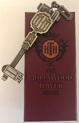 Disneyland Paris / HTH Hollywood Tower of Terror Key Clef / 30.03.18 RARE + NEW