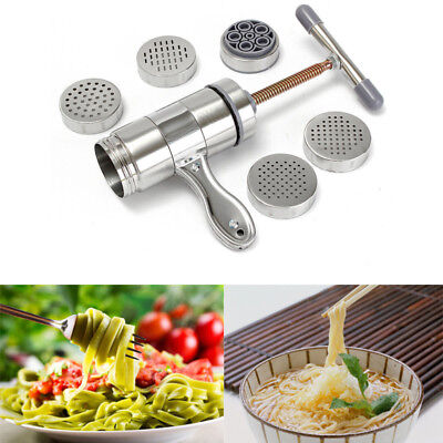 Stainless Steel Pasta Noodle Maker Fruit Juicer Press Spaghetti Manual Machine