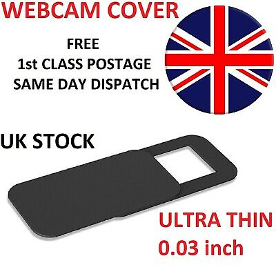 Webcam cover Thin 0.03in Camera Slider Sticker for Laptop Mobile Tablet