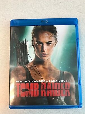 """Tomb Raider"" with Slipcover (Blu-ray + DVD) NO DIGITAL HD INCLUDED"