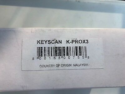 Keyscan K-Prox3 Proximity Reader Factory Sealed