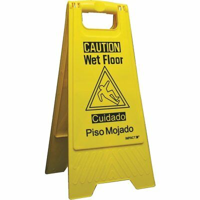 (6 Pack) Impact Wet Floor Sign - 9152W-90