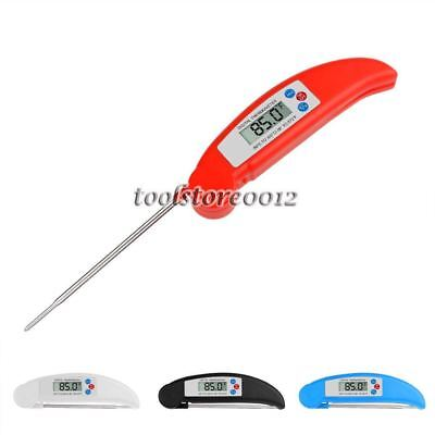 Internal Meat Digital Thermometer Cooking Tool Steel Probe Wireless BBQ Grilling